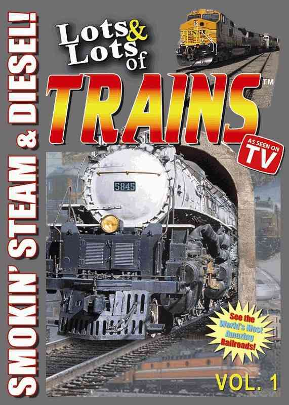 LOTS AND LOTS OF TRAINS VOL 1 BY LOTS AND LOTS (DVD)